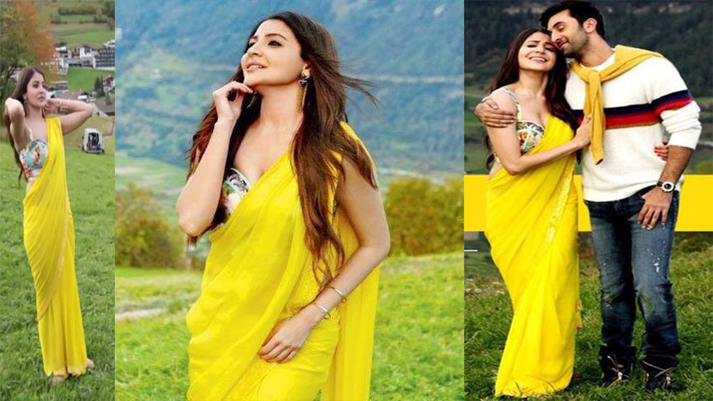 Yellow Floral Saree