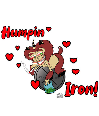 Humpin Iron Men's
