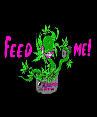 FEED ME! Men's Fitted tee