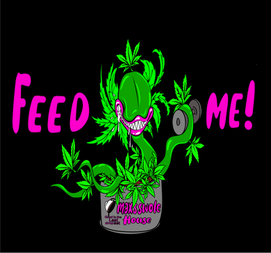 Feed Me! Crop top