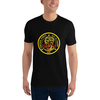 KOBRA HIGH men's  Short Sleeve T-shirt