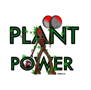 Plant Power Sticker
