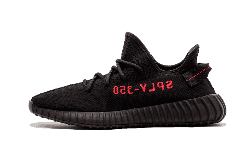 "Yeezy 350 V2 ""Black Red"""