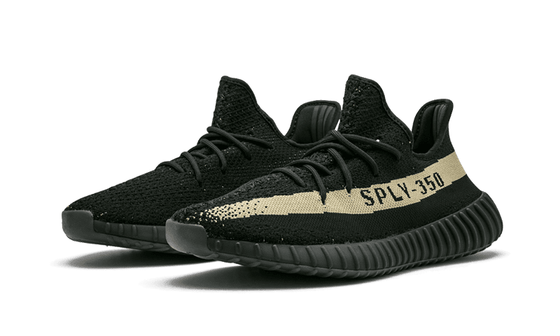 "Yeezy 350 V2 ""Core Black Green"""