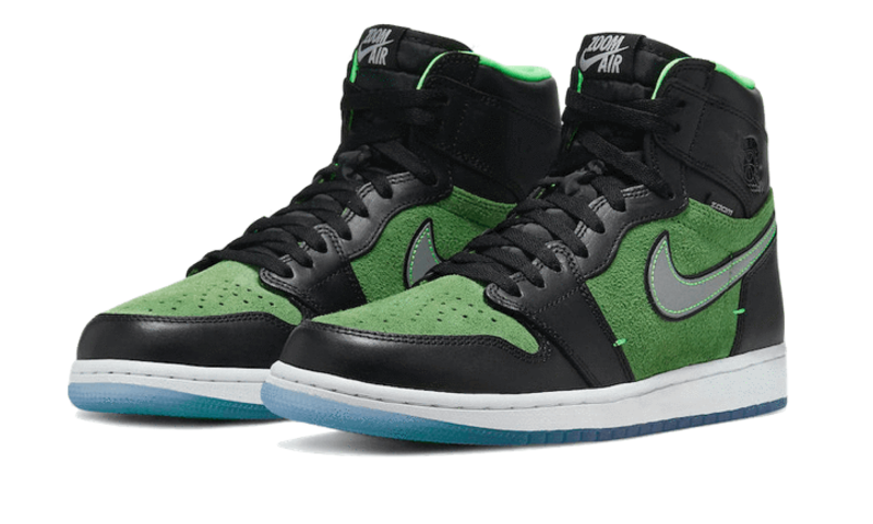 "Air Jordan 1 Retro High ""Zoom Black Green"""