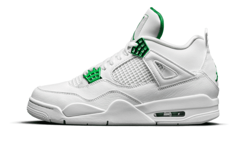 "Air Jordan 4 Retro ""Metallic Green"""