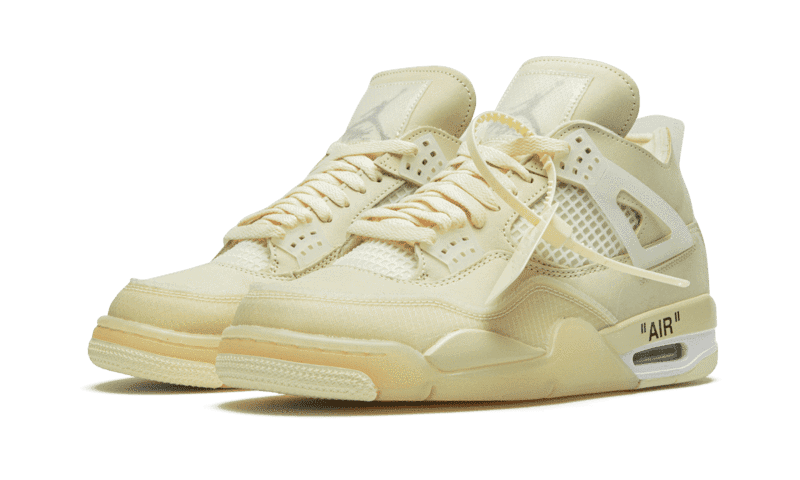 "Air Jordan 4 Retro Off-White ""Sail"""