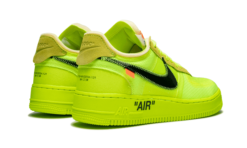 "Air Force 1 Low Off-White ""Volt"""