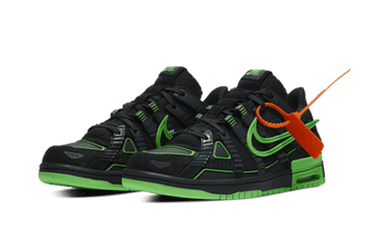 "Air Rubber Dunk Off-White ""Green Strike"""