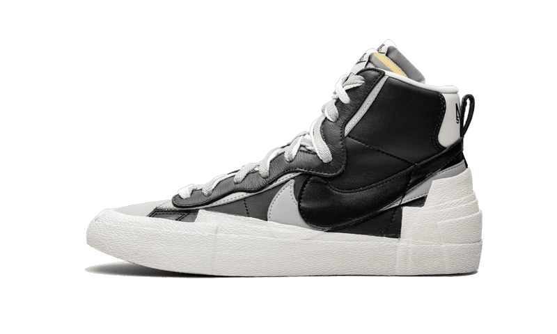 "Blazer High Sacai ""Black Grey"""
