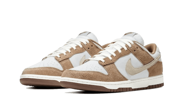 "Dunk Low ""Medium Curry"" light brown nike front"