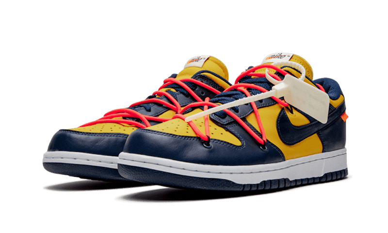 "Dunk Low Off-White ""Michigan"""