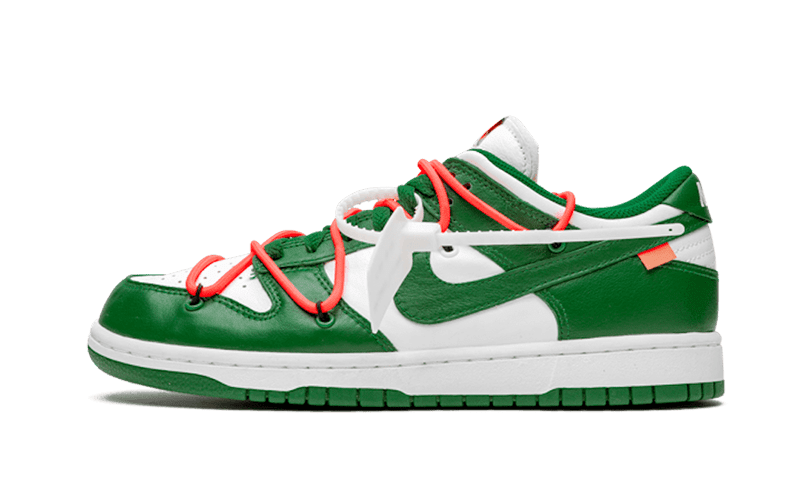 "Dunk Low Off-White ""Pine Green"""
