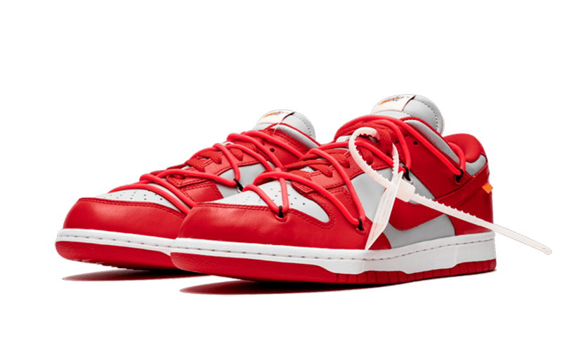 "Dunk Low Off-White ""University Red"""