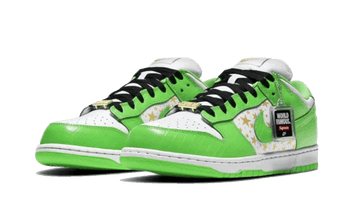 "SB Dunk Low Supreme ""Mean Green"""