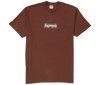 "Supreme Bandana Box Logo T-Shirt Tee ""Marron"""
