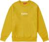 "Supreme Box Logo Crewneck  ""Moutarde"""
