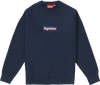 "Supreme Box Logo Crewneck ""Navy"""