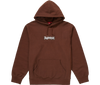 "Supreme Bandana Box Logo Hooded Sweatshirt ""Marron"" front*"