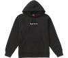 "Supreme Bandana Box Logo Hooded Sweatshirt ""Noir"" front"