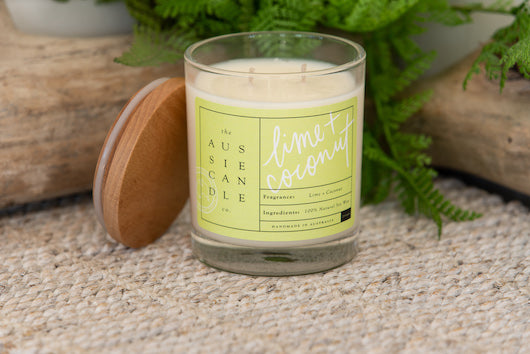 Lime & Coconut Large Soy Candle