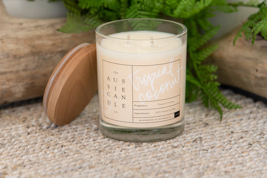 Tropical Coconut Large Soy Candle