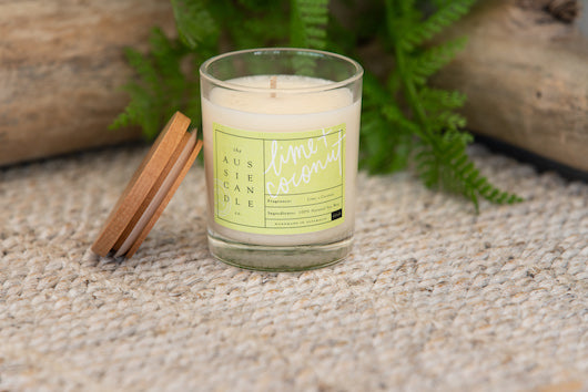 Lime & Coconut Small Soy Candle