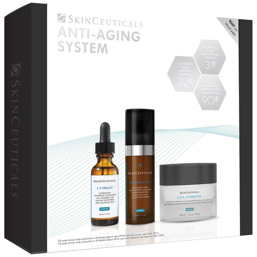 SkinCeuticals Advanced Anti-Aging System w/ CE Ferulic (3-Piece Kit)