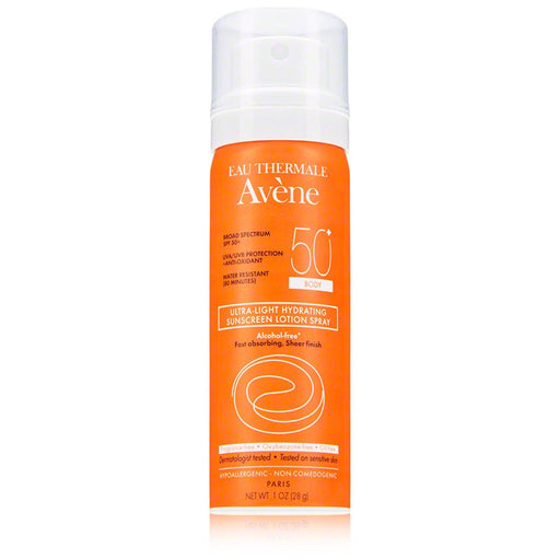 Avène Ultra-Light Hydrating Sunscreen Lotion Spray SPF 50+ (1 oz - Body)