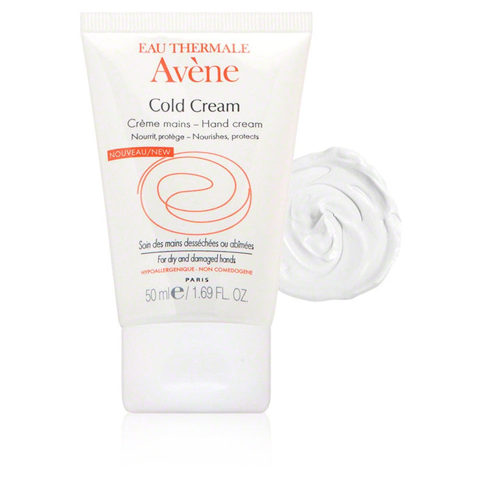 Avène Cold Cream Hand Cream (1.69 oz / 50 ml)