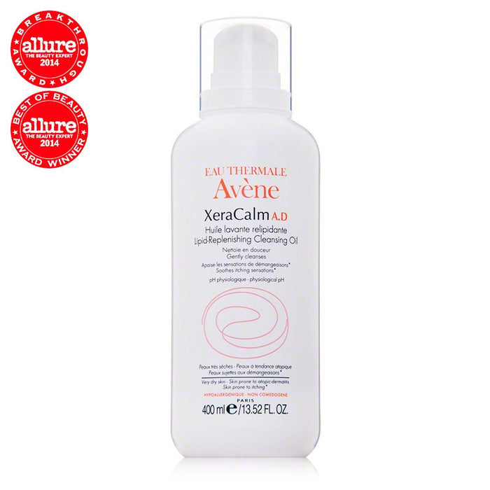 Avène XeraCalm A.D Lipid-Replenishing Cleansing Oil (13.52 oz / 400 ml)