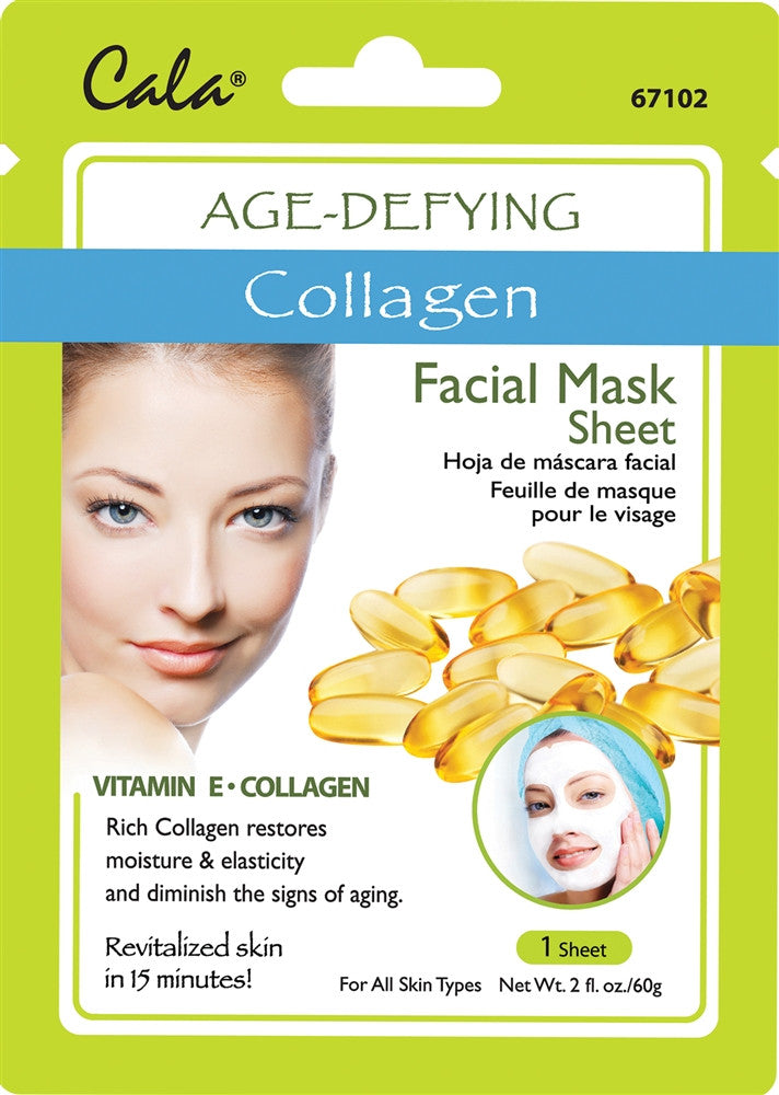 Cala Collagen Age Defying Facial Mask Sheet