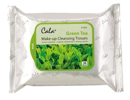 Cala Make-up Cleansing Tissues (Green Tea) 30 sheets
