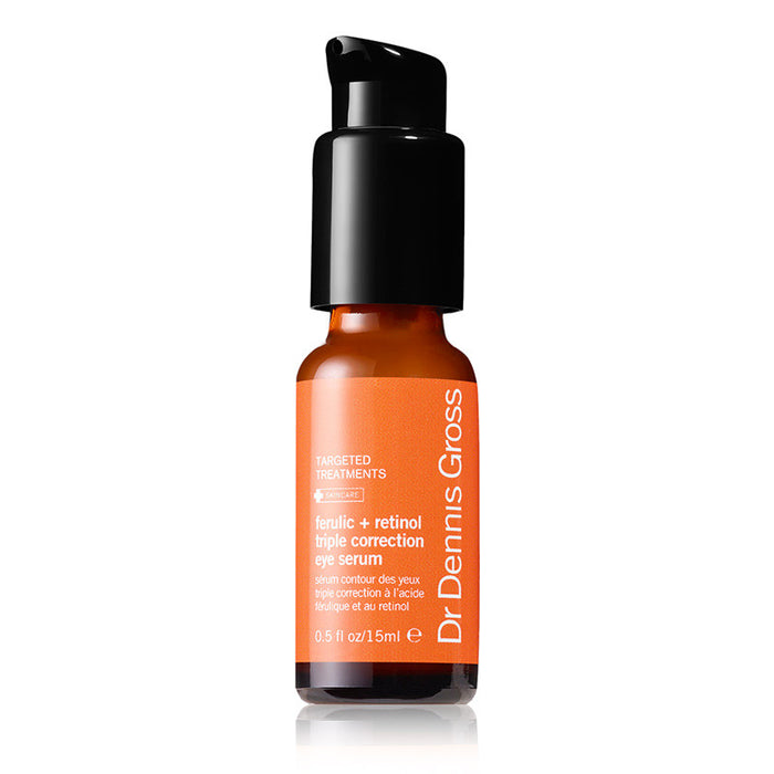 Dr. Dennis Gross Ferulic + Retinol Triple Correction Eye Serum (0.5 oz/15 ml)