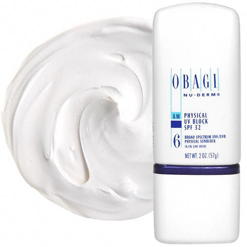 Obagi Nu-Derm Physical UV Block SPF 32 (2 oz / 60 ml)