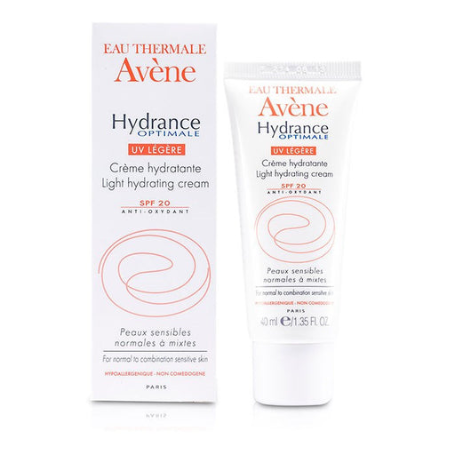 Avène Hydrance Optimale LIGHT Hydrating Cream (1.35 oz/ 40 ml)