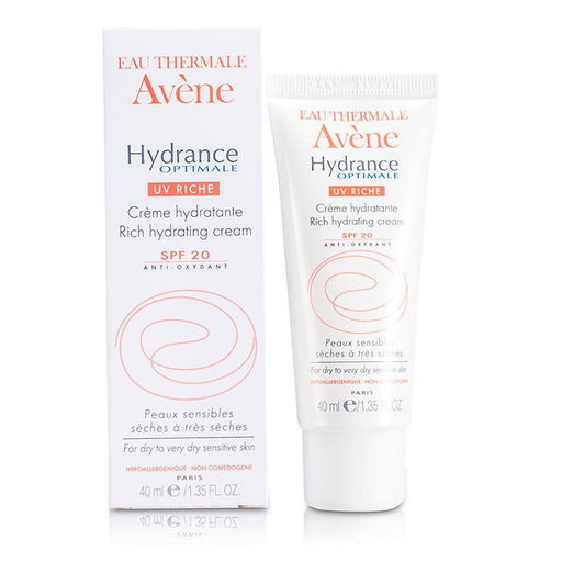 Avène Hydrance Optimale RICH Hydrating Cream (1.35 oz/ 40 ml)