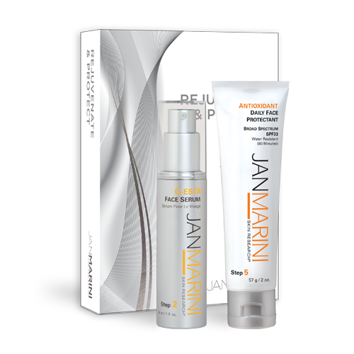 Jan Marini Rejuvenate & Protect - Antioxidant Daily Face Protectant Duo