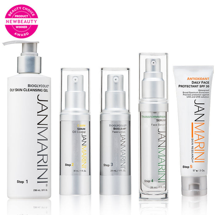 Jan Marini Skin Care Management System Oily (5 Pieces)