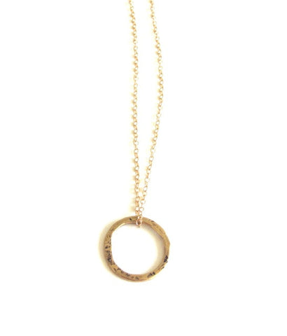 Karma Necklace in Gold
