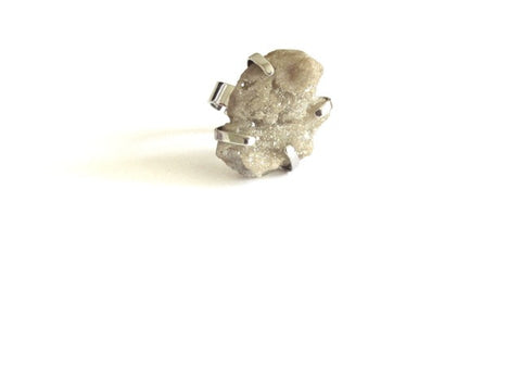 Cluster Galaxy Ring in Ivory