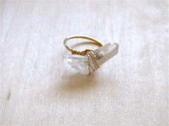 Quartz Ring in Gold