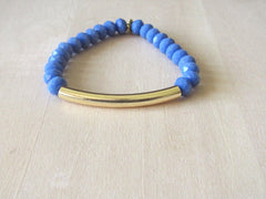 Tulum Gold Bar Bracelet