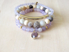Light Wood Lavender Stack