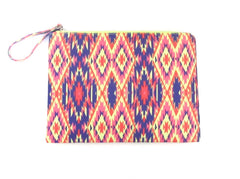 Neon Indio Summer Clutch