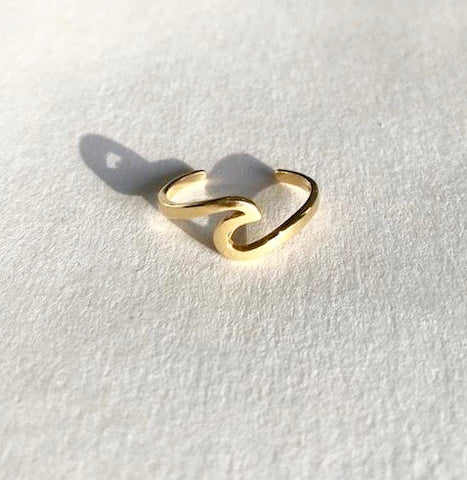 Beach Waves Ring