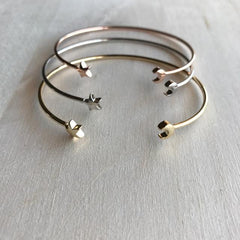 Moon and Star Cuff