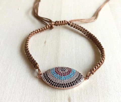 Evil Eye Thread Bracelet