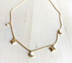 Star and Moon Necklace