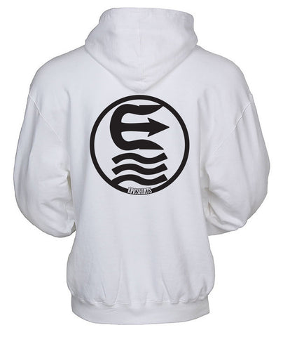 central white pullover hoodie